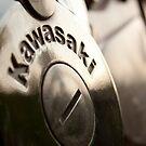 Kawasaki motorcycle engine - closeup by wildrain