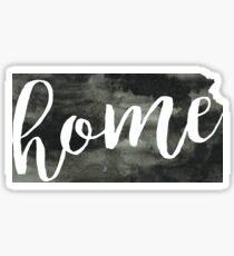 kansas is home Sticker