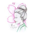 Sketch 026 - 桜 by liajung