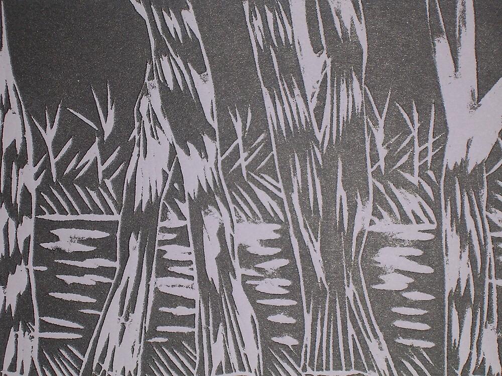 Barmah Trees by Joan Wild
