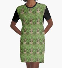 Signal grass Graphic T-Shirt Dress