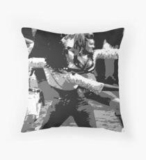 Steppin... Throw Pillow