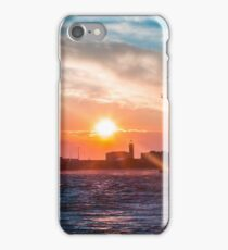 Windy day in the city of Trieste iPhone Case/Skin