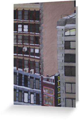 New York Windows by Joan Wild