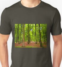 Beautiful lush Forest landscape T-Shirt
