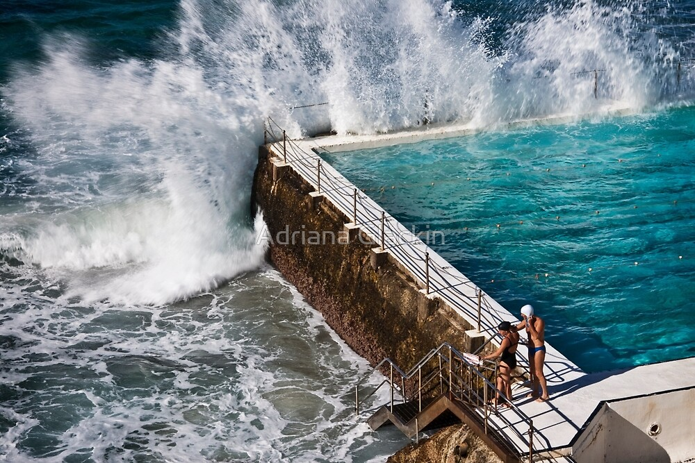 Bondi Beach Splash by Adriana Glackin