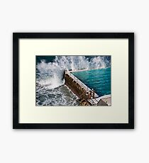 Bondi Beach Splash Framed Print