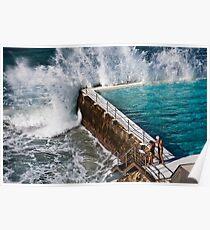 Bondi Beach Splash Poster
