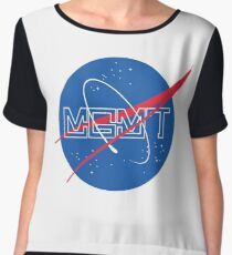 NASA MGMT Logo Women's Chiffon Top