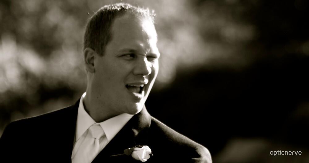 wedding laughs by opticnerve