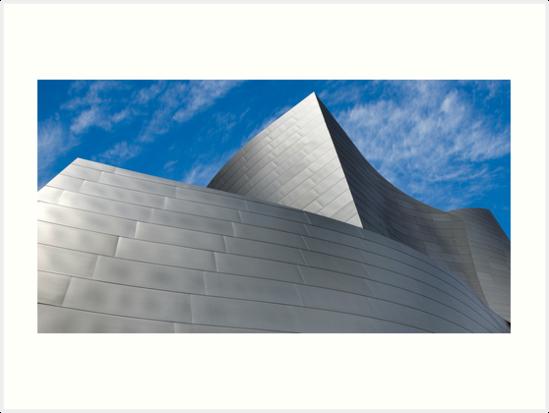 Walt Disney Concert Hall by Eyal Nahmias