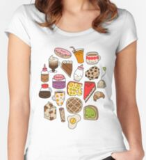 Brunch by Elebea Women's Fitted Scoop T-Shirt