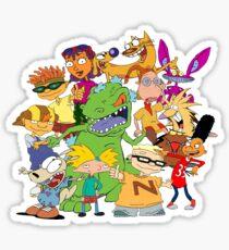 90's Mash Up Sticker