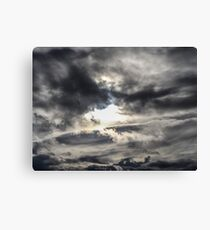 sky wave  Canvas Print