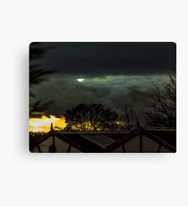 afternoon sky  Canvas Print