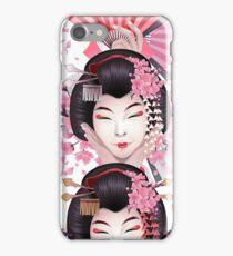 Cute asian girls iPhone Case/Skin