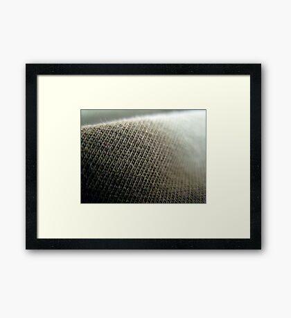 Fabric close up 1 Framed Print