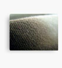 Fabric close up 1 Canvas Print