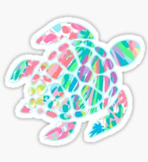 Lilly Pulitzer Sea Turtle- #3 Sticker