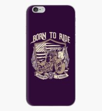 BORN TO RIDE Goodies iPhone Case