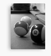 3 balls Canvas Print