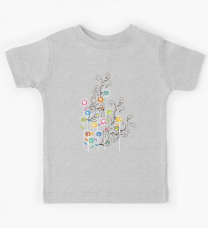 My Groovy Flower Garden Grows Kids Clothes