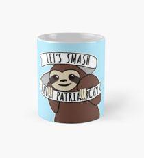 "Feminist Sloth ""Smash the Patriarchy"" Mug"