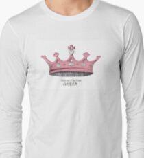 Procrastination Queen Long Sleeve T-Shirt