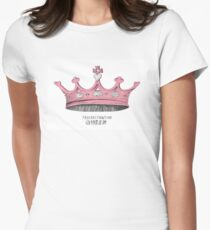 Procrastination Queen Women's Fitted T-Shirt