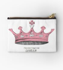 Procrastination Queen Studio Pouch