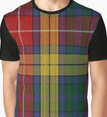 Buchanan (Wilson) Clan/Family Tartan Graphic T-Shirt