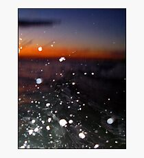 Super Sun and Ocean Spray Explosion Photographic Print