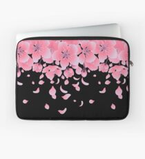 Graphic sakura flowers Laptop Sleeve