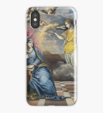 El Greco - The Annunciation iPhone Case/Skin