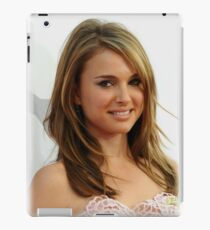 Natalie Portman oil paint iPad Case/Skin