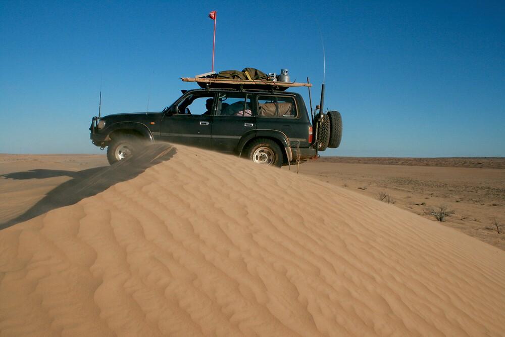 Simpson Desert - Rig Road  by Bill McRobb