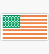 Irish American Sticker