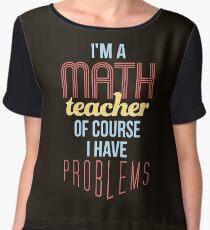 Blusa Profesor de matemáticas