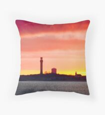 Looking At Provincetown From Truro Throw Pillow