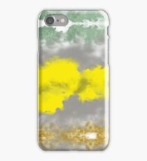 explosive smoky colors iPhone Case/Skin