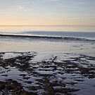 Late Autumn Afternoon at the coast in Clevedon by MagsArt