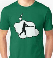 Baseball Player Swing by Bubble-Tees.com Unisex T-Shirt