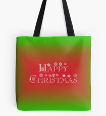 HAPPY CHRISTMAS GIFTS AND CARDS Tote Bag