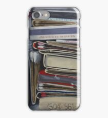 Catch Fire Vintage Matchbook Painted Match Art iPhone Case/Skin