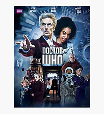Doctor Who Series 10 Movie Poster Photographic Print
