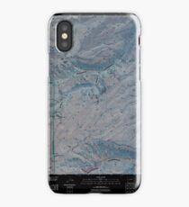 USGS TOPO Map Colorado CO Escalante Forks 20110517 TM Inverted iPhone Case/Skin