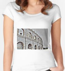 Puy du Fou Colosseum France Women's Fitted Scoop T-Shirt