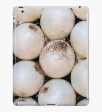 white onion iPad Case/Skin