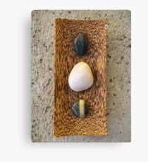 Zen Pebbles Canvas Print