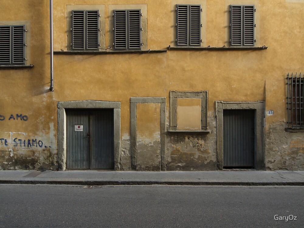 Florence streetscape by GaryOz